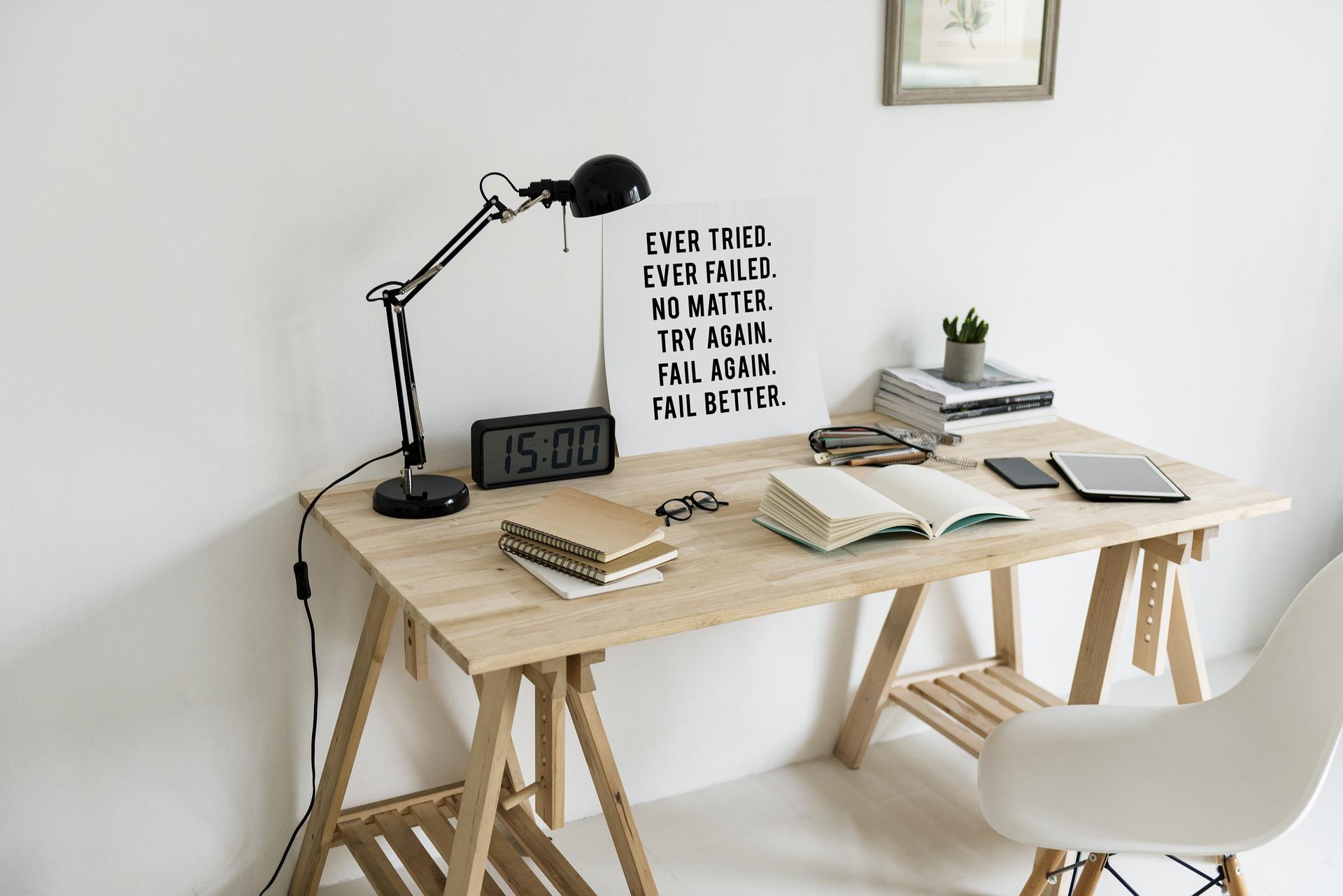Claves para tener en cuenta a la hora de crear tu lugar de escritura: ponlo a tu gusto